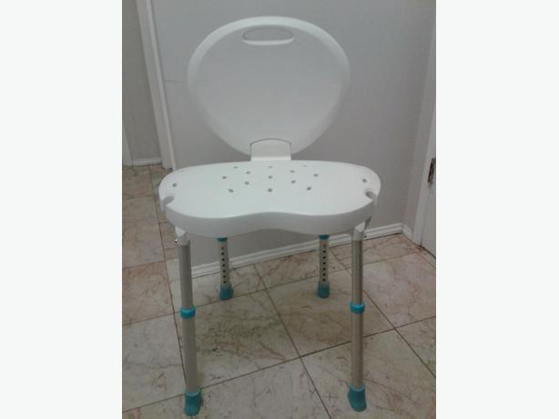 Aquasense shower chair West Shore: Langford,Colwood,Metchosin ...