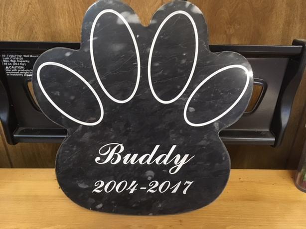 Custom Pet Memorials