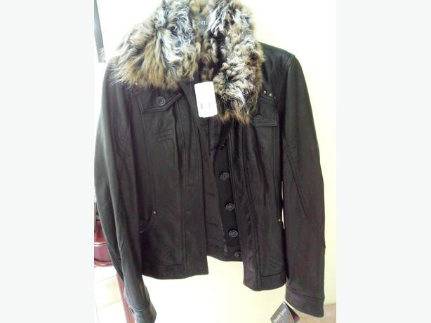 NWT Danier Black Women's Lambskin leather Jacket