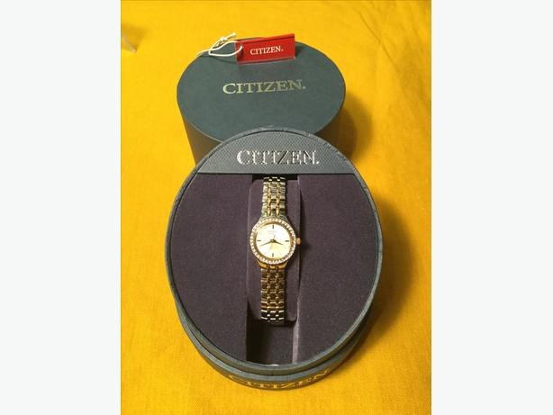 LADIES -  CITIZEN QUARTZ WATCH — BRAND NEW in BOX