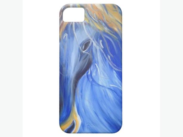 the Blue Horse iPhone 5 Cover - ART