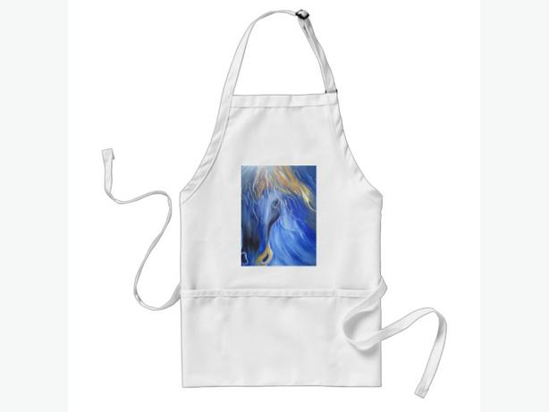 the Blue Horse Standard Apron - ARTSY