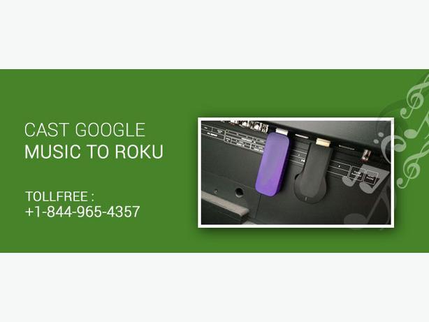 Cast Google music to Roku
