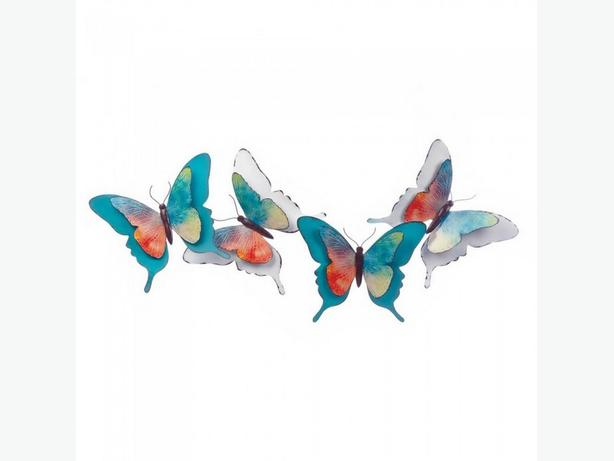 Huge 3D Butterfly Metal Wall Art Brand New Over 3-Feet