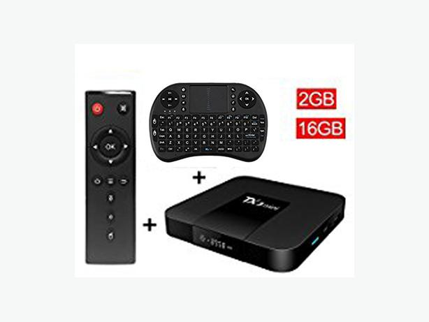 NEW! Top of the Line TV Box + Free Mini Keyboard