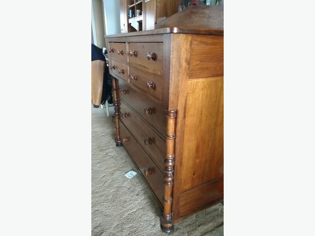 1870s thomas day chest of drawers