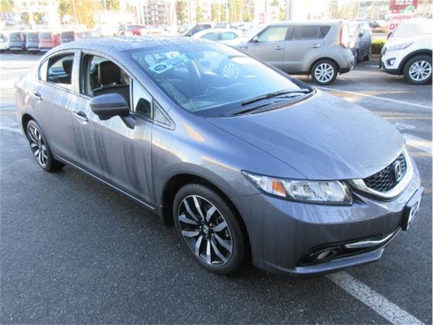 2014 Honda Civic Touring Low Kilometers One Owner