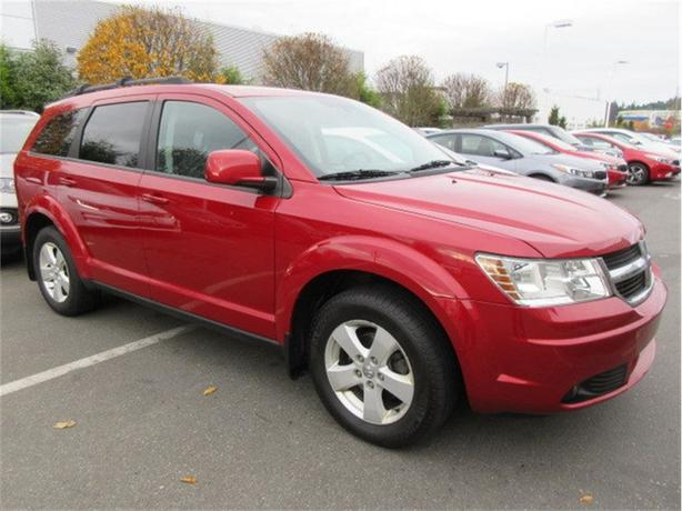 2010 Dodge Journey SXT 7 Passenger Accident Free