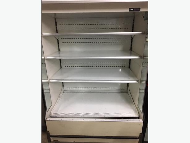 Open Front Refrigerated Display Case