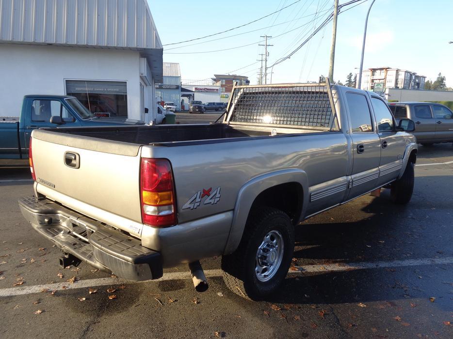 Chevrolet Silverado 2500hd Gatineau >> 2002 chevrolet silverado 2500hd 4x4 crewcab longbox Outside Victoria, Victoria