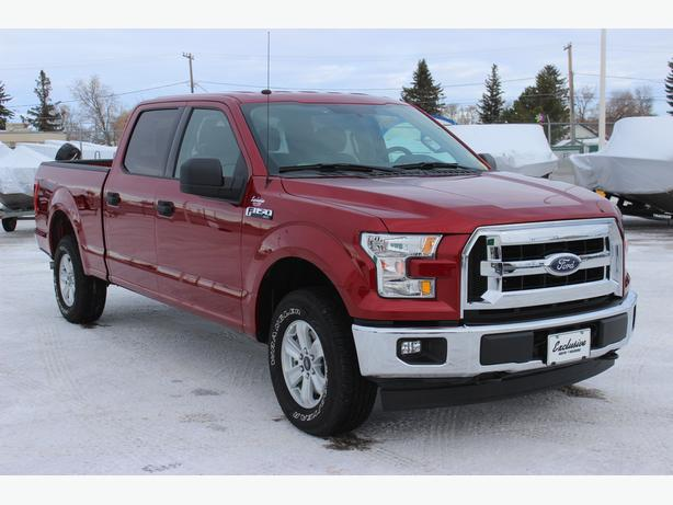 2017 Ford F-150 XLT SuperCrew 4x4 with 6 1/2 box