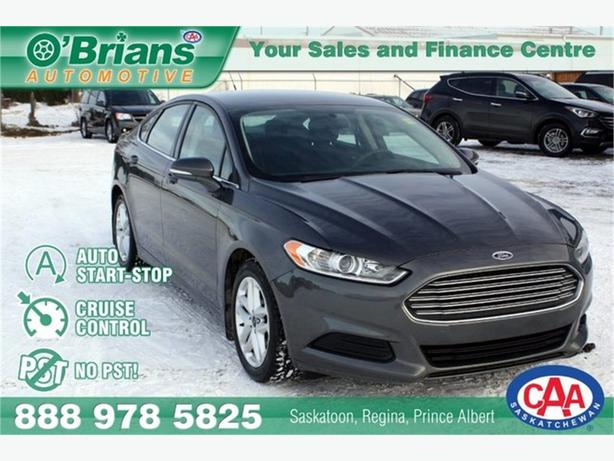 2015 Ford Fusion SE - No PST! w/EcoBoost
