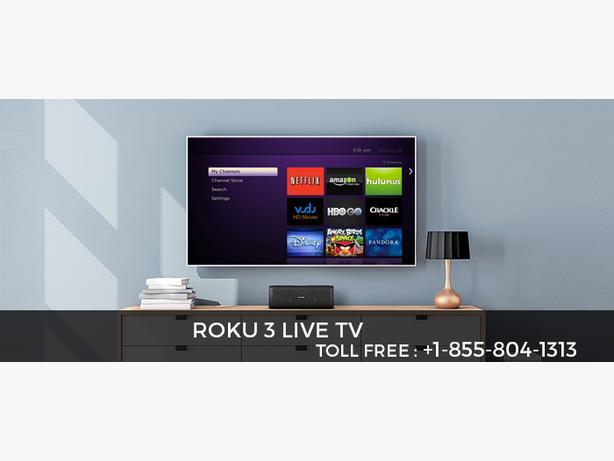 Stream live TV on Roku 3