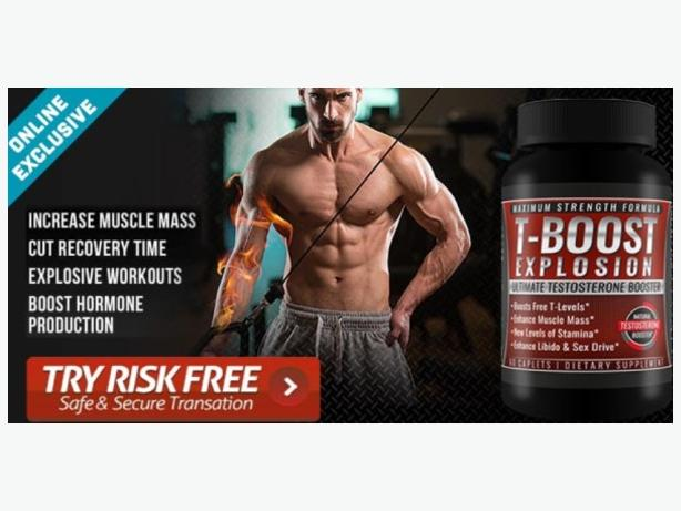 T Boost Explosion Exlosive Muscle Gain