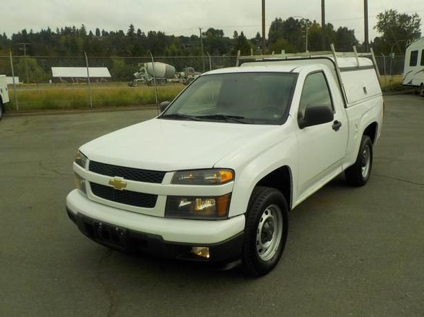 2012 Chevrolet Colorado 1LT Regular Cab 2WD Short Box with Service Canopy