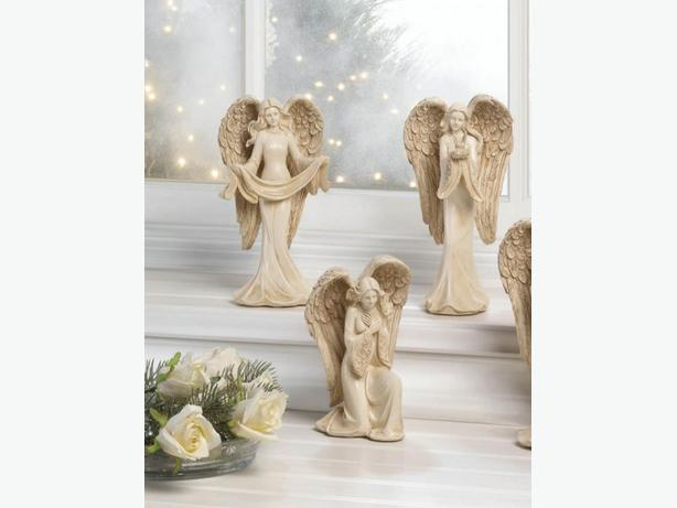 Angel Figurine Statue Ornament 3 Different Poses Mixed Brand New