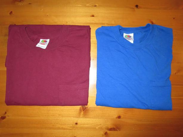 Two New T-shirts For Sale, Fruit Of The Loom - Only $5 For Both