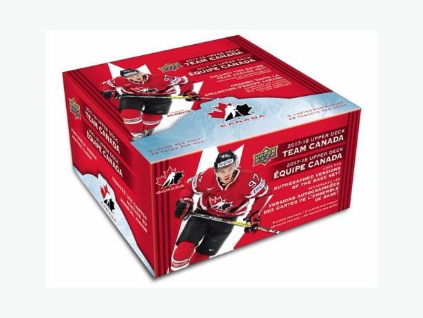 2017/18 Upper Deck Team Canada Hockey Card Set