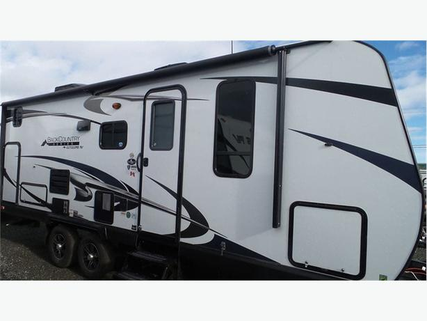 2018 Outdoors RV Black Rock 23BKS -