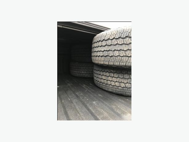 Good Year Wrangler Tires 4 available