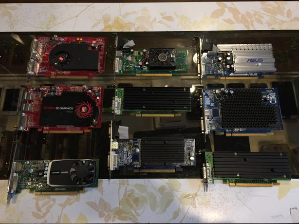 Miscellaneous USED PCI Express Video Cards For Sale!