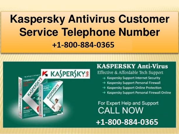Contact Kaspersky Customer Support +1-800-884-0365