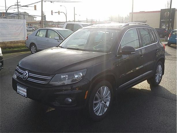 2013 Volkswagen Tiguan 2.0 TSI Highline (A6) Immaculate Island owned