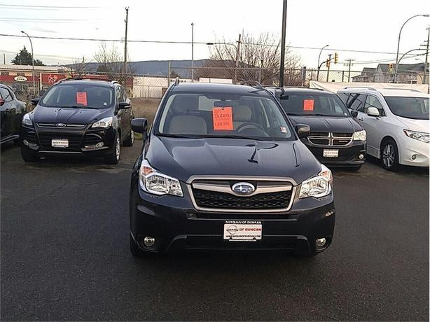 2015 Subaru Forester 2.5i Convenience Package (CVT) BC NO ACCIDENTS