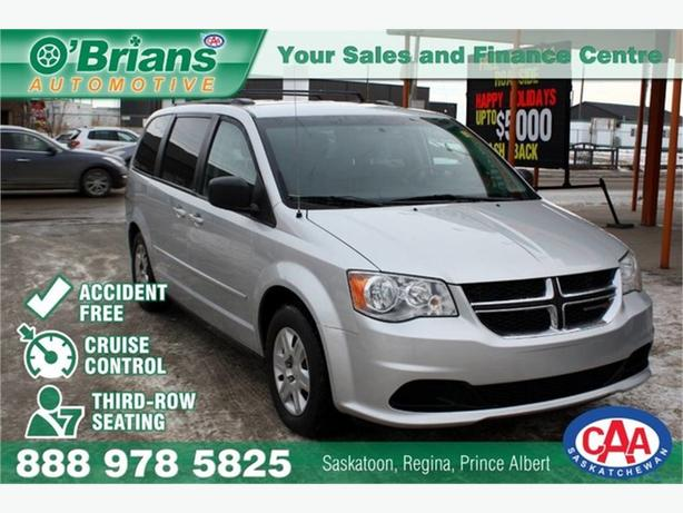 2011 Dodge Grand Caravan SXT - Accident Free!
