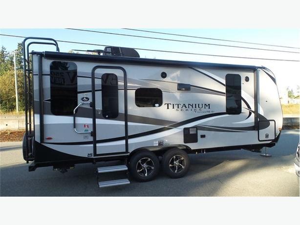 2018 Outdoors RV Titanium Creek Side 20FQ -