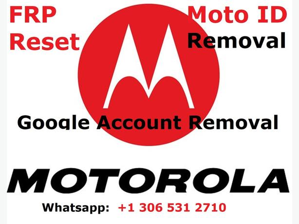 Moto Phone Google Account Removal Moto G,G4,Z,Droid,X,Turbo,E4, Motorola