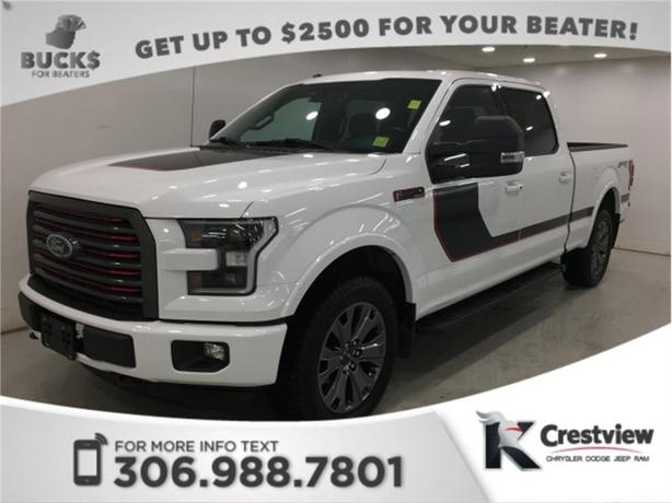 2016 Ford F-150 Lariat SuperCrew   Leather   Remote Start