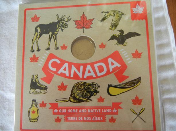 2016 O Canada coin set special edition loonie