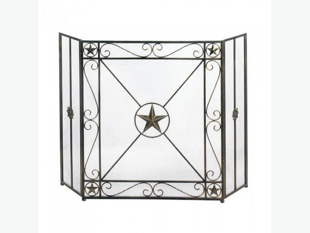 Country Western Lone Star Fireplace Screen 2 Designs Your Choice New