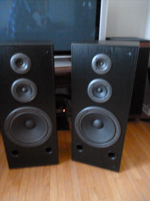 Technics Sb A27 Stereo Tower Speakers 3 Way 12 Inch