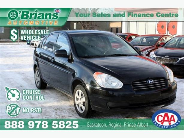 2010 Hyundai Accent GL- Wholesale Unit, No PST!