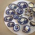 Full 8 set of Blue Willow Dinning collection