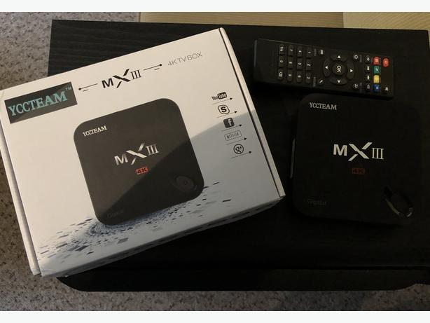 KODI MX III 4K Android TV Box Media Player Victoria City
