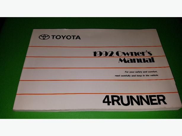 2015 toyota 4runner owners manual $34. 00 | picclick.