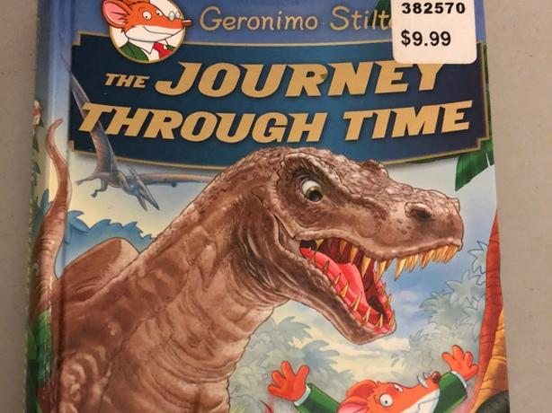 Brand new, never been read, Geronimo Stilton Journey Through Time