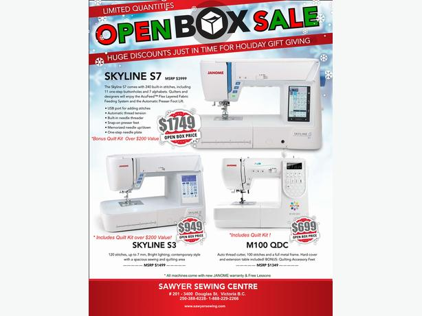 OPEN STOCK  Janome Computerized Sewing Machines