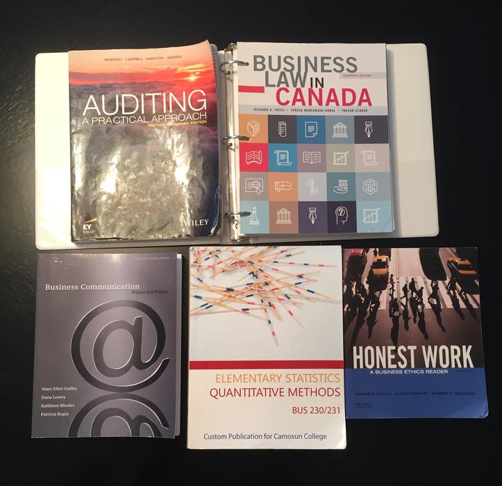 Camosun Business Textbooks North Saanich & Sidney , Victoria