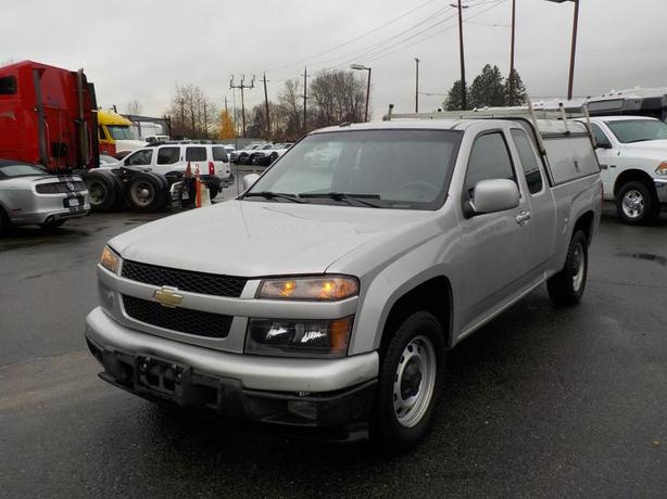 2011 Chevrolet Colorado 1LT Extra Cab 2WD with High Service Canopy