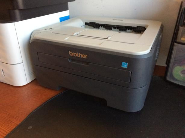 Brother Laser Printer + toner