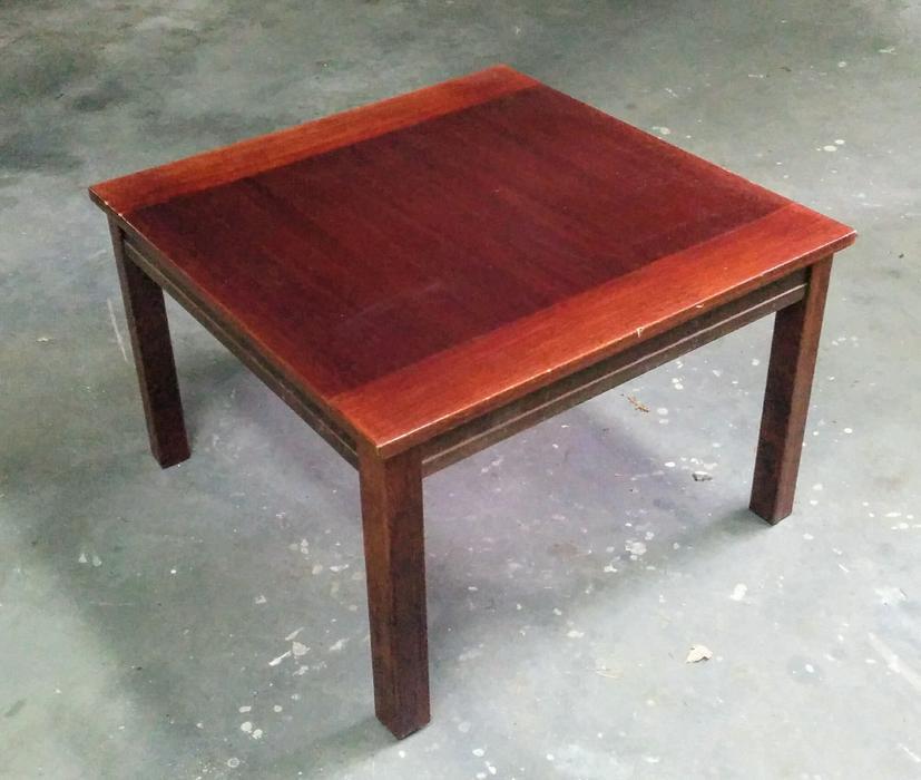 IKEA SQUARE COFFEE TABLE, Dark Wood Colour Saanich, Victoria