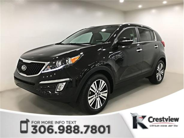 2015 Kia Sportage EX AWD | Leather | Sunroof | Navigation