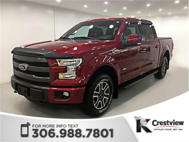 2015 Ford F-150 Lariat SuperCrew V6 | Leather | Sunroof | Navigation