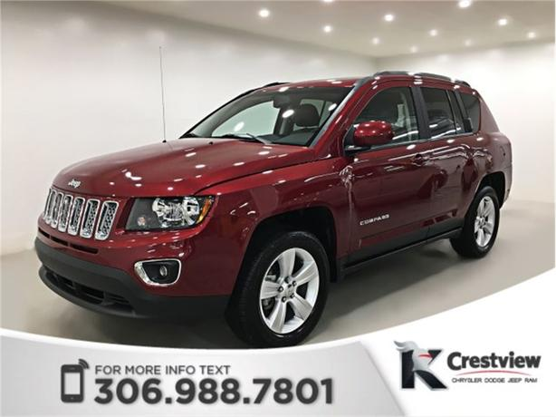 2015 Jeep Compass High Altitude 4x4 | Leather | Sunroof | Remote Start