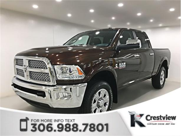 2015 Ram 3500 Laramie Crew Cab | Sunroof | Navigation | Remote Start