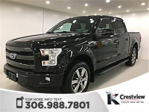2016 Ford F-150 Lariat   Leather   Sunroof   Navigation